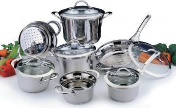 посуда из стали
